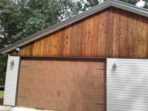 Wooden Siding Sealed by Sealed Smart in Arkansas