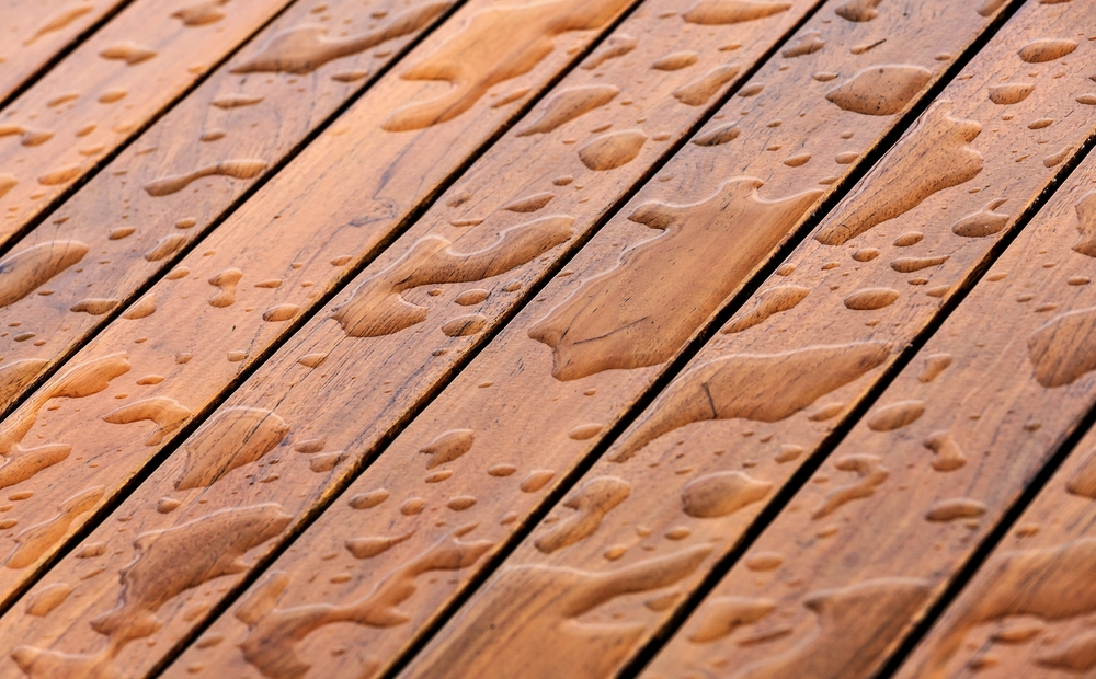 wood deck sealant